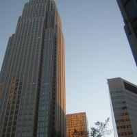 Bank Of America At Dusk 11-8-2008, Шарлотт