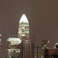 Charlotte at night from Seaboard St., Шарлотт