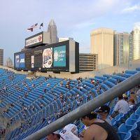 Charlotte Skyline from Bank of America Stadium, Шарлотт