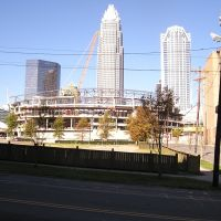 Building the Bobcat Arena, Шарлотт