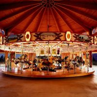 Shelby City Park Carrousel by Randy McNeilly, Шелби