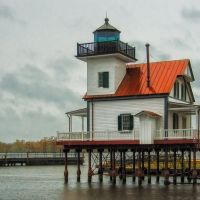 Roanoke River Lighthouse, Эдентон