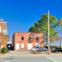NORTH CAROLINA: ELIZABETH CITY: Elizabeth City Milling Company building on South Water Street, Элизабет-Сити