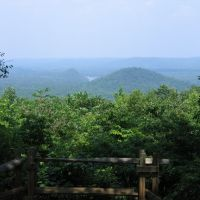 View From Morrow Mountain in Uwharries, Эллерб