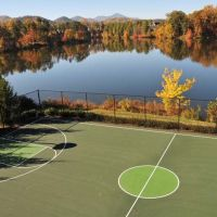 Biltmore Lake Basketball Court, Энка