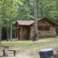 Pickett Bath House near Jamestown, TN, Бакстер
