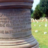 Stone River Battlefield, Бакстер