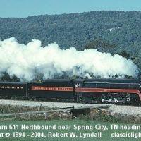 N&W 611 - Spring City, TN, Бакстер