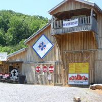 Beck Mountain Corn Maze and Entertainment Barn on www.QuiltTrail.org, Билтмор