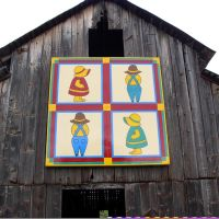 St. John Barn and Mill on www.QuiltTrail.org, Билтмор