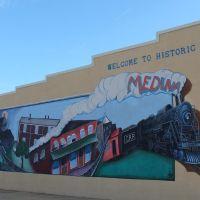 Medina Mural, Гибсон