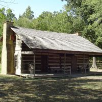 Davy Crockets last home, Глисон