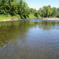 Caney Fork River at Stonewall, TN - Downstream View from low flow control, Гордонсвилл