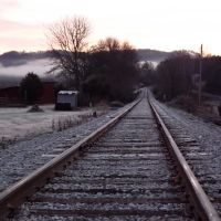 Chilly Morning Near Gordonsville, TN, Гордонсвилл