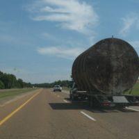 Wide load on 51, Гринфилд