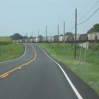 Long train on 51, Гринфилд