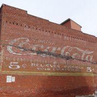 Coca-Cola Advertisement, Downtown Johnson City, TN, Джохнсон-Сити
