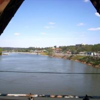 View over the Cumberland River, Кларксвилл