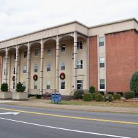 Anderson County Courthouse - Clinton, TN, Клинтон