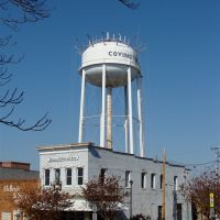 Covington, TN. water tank, Ковингтон