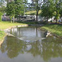 Creek near Bristol Motor Speedway/Dragway, Кросс Плаинс