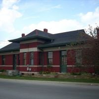 Train depot Cookeville TN, Кукевилл