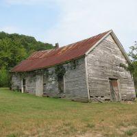 Sinking Old Church Building Fry Branch rd near Stiversville Rd, Линнвилл
