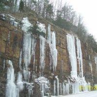 Icy Cliffs, Chattanooga, Tn, Лукоут Моунтаин