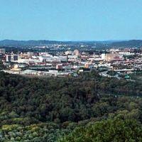 Chattanooga skyline, TN, Лукоут Моунтаин