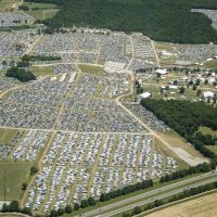 Bonnaroo Music Festival Aerial Photography, Манчестер