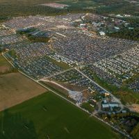 Bonnaroo Music Festival Aerial Photo, Манчестер
