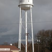 Water Tower, Tennessee Highway 22, Michie, Tennessee, Медон