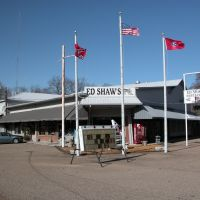 Ed Shaws Restaurant & Gift Shop, Tennessee Highway 22, near Shiloh National Military Park, Tennessee, Медон