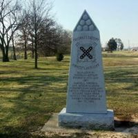 Freemans Battery/Forrests Artillery Monument, Parkers Crossroads Battlefield, Tennessee, Медон