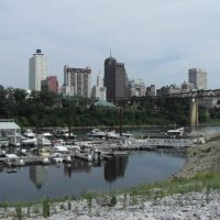 View of Memphis TN, Мемфис