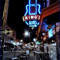 BB King club on Beale street in Memphis, Мемфис