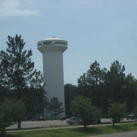 Watertower in the naval base in Millington, Миллингтон