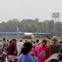 """Fat Albert"" - Blue Angels support plane taking off.  Midsouth Airshow 2011, Миллингтон"