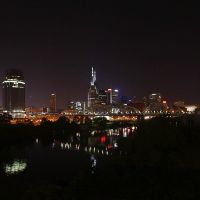 Nashville Skyline night, Нашвилл
