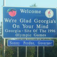 Georgia from Tennessee on I-75, Ниота