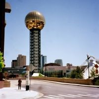 Sunsphere, Knoxville Worlds Fair, Tennessee, Ноксвилл