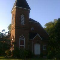 New Market Presbyterian Church, built 1826, Нью-Маркет