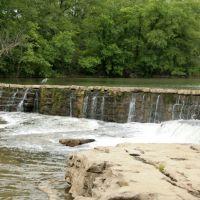 Man made Dam on Stones River Greenway, Рутерфорд