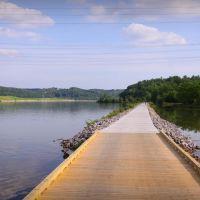 Boardwalk becomes Concrete Walk Near Hardin Valley, Tennssee, Саут-Клинтон