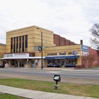 Ritz Theater & Hoskins Drug Store - Clinton, TN, Саут-Клинтон