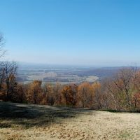 View from the Cross at Sewanee, TN., Севани