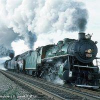 Southern 4501 - N&W 611 & 1218 - Chattanooga, TN, Сентертаун