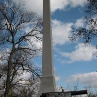 Forrest Monument, Nathan Bedford Forrest State Park, Tennessee, Трезевант