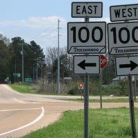 Highway 100 @ Toone, Тун