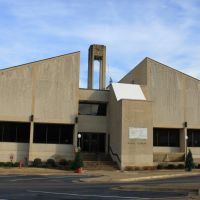 Wayne County Courthouse - Built 1974 - Waynesboro, TN, Фингер